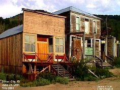 Silver City, Idaho - Not really a ghost town since people still live there, but it's pretty cool.