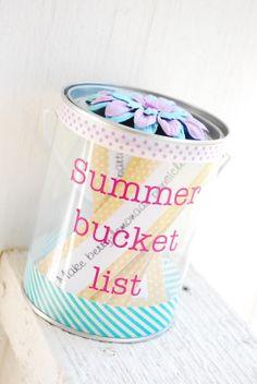 DIY Summer Bucket List