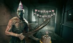 I made an Outlast-themed birthday picture for my wife. We're hyped for the sequel. http://ift.tt/2dRss3c