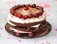 Black Forrest Gateau cake recipe