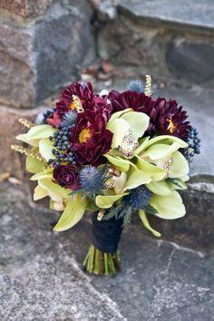 108 Fall Wedding Bouquets That Inspire | HappyWedd.com