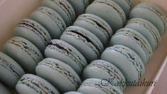 Blueberry Macarons Macarons, Blueberry, Convenience Store, Convinience Store, Berry, Macaroons, Blueberries
