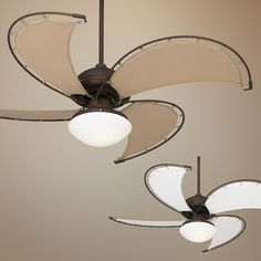 Cool Vista Damp Oil-Rubbed Bronze Ceiling Fan lamps plus canvas coastal style fan Patio Fan, Blades Of Glory, Contemporary Ceiling Fans, Bronze Ceiling Fan, Fan Lamp, Energy Efficient Lighting, Outdoor Ceiling Fans, Outdoor Fans, Houses