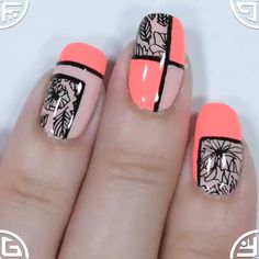 Beautiful nail design Beautiful nail designAmazing Argyle Nail Art Diy Trends of 2019 / for elegant womenHalloween nail art ideas for a cute-but-creepy manicure Credits: Ha. Flower Nail Designs, Nail Art Designs, Nails Design, Pretty Nails, Cute Nails, Hallographic Nails, Nail Nail, Ongles Funky, Nagel Stamping