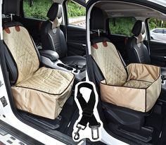Co-Pilot Pet Car Seat Cover for Dog with Seat Belt forFits mostCars, Trucks, SUV'S and Vehicles * Check this awesome image  : Products for dogs