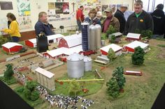 1/64 scale Dairy Farm