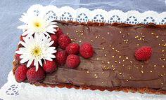 Coisas simples são a receita ...: Tarte de chocolate e frutos vermelhos