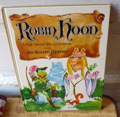 Vintage Muppets Robin Hood A High Spirited Tale by ShopVintageToys