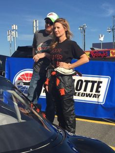 Any last-minute tips, boss? @amy_reimann discusses strategy with @DaleJr before the #BetterHalfDash @CLTMotorSpdwy