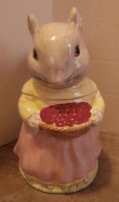 Squirrel Cookie Jar. via Etsy.