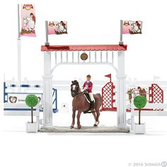 Schleich Big horse show with riders and horses