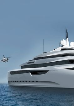 Gardenia 96m yacht concept by Emre Yildirim of Nod Design _