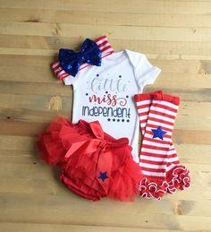 Rhinestone Happy 4th July Black Top Patriotic Stripe Star Baby Girl Skirt 3-12m