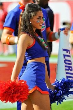 Florida Gators cheerleader