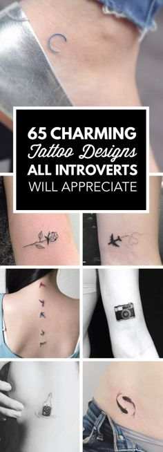 65 Charming Tattoo Designs All Introverts Will Appreciate   TattooBlend