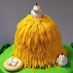 The Bakery Next Door: Farm Birthday Cake - Another Version
