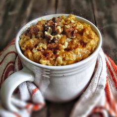 Oatgasm: Roasted Butternut Squash Apple Oatmeal with Nuts Baby Food Recipes, Cooking Recipes, Food Baby, Healthy Oatmeal Recipes, Healthy Breakfasts, Apple Oatmeal, Clean Eating Breakfast, Roasted Butternut Squash, Food Allergies