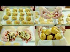 PANGOCCIOLI FATTI IN CASA RICETTA FACILE - Homemade Chocolate Chip Buns Easy…