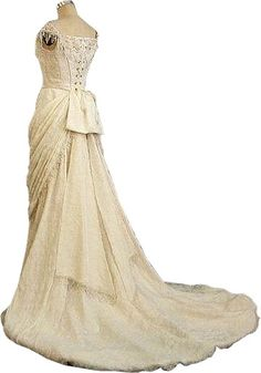 Edwardian wedding dress | Wedding Dress Cleaning