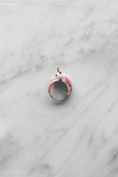 Unicorn Ring Pink