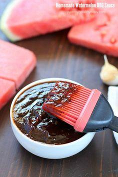 Watermelon Homemade BBQ Sauce + Visa Giveaway!