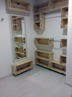 Look at the wooden crates that I believe never in your life you have considered…