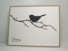 Laurie's Stampin Place: Black Bird
