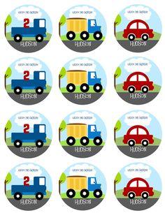 POCO coches y camiones partido por littlebirdieprints en Etsy