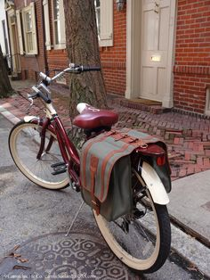 The NICEST bicycle bags ever! #Bikes #Bicycles #BikeBags   www.carmichaelandcousa.com