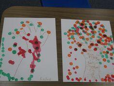 Simple bingo dot trees