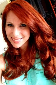 Red hair for fall! Yes please.