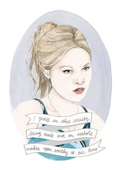 Kat Stratford 10 Things I Hate About You portrait by ohgoshCindy