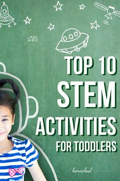 Our top 10 favorite STEM activities for toddlers! Inspire an early love of all things STEM with these hands-on experiments and projects - perfect for little ones! #toddleractivities #stem #stemeducation #learningthroughplay Homeschool Science Curriculum, Preschool Education, Homeschool Kindergarten, Steam Learning, Fun Learning, Toddler Activities, Preschool Activities, Geography For Kids, Science Lesson Plans