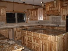 My kitchen island that my husband made for me! My dream kitchen!!