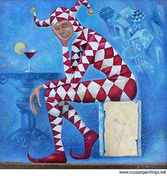 'Dreary Harlequin' Artist: Spiros Dmitriy