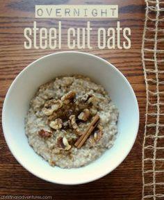 ... on Pinterest | Steel cut oats, Overnight steel cut oats and Oatmeal
