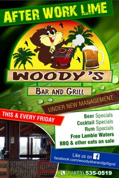 After Work Lime @ Woody's Bar & Grill (every Friday)