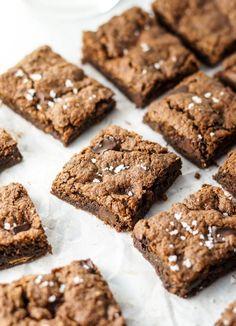 Vegan Almond Butter Brownies | Detoxinista