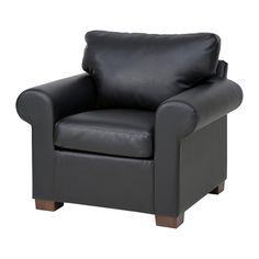 EKTORP Chair, Kimstad black Kimstad black