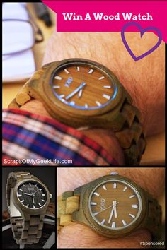 Win A Unique Jord Wood Watch For Valentine's Day #Spon #Giveaway