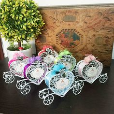livraison gratuite 200 pcslote blanc bote de chocolat pour les noces fer chariot - Aliexpress Decoration Mariage