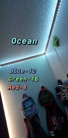 Led Room Lighting, Room Lights, Strip Lighting, Cute Room Ideas, Cute Room Decor, Led Light Strips, Led Strip, Led Diy, Diy Led Light