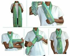 Knot how to tie a scarf