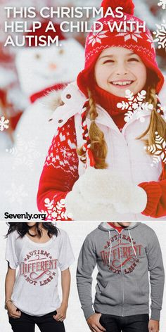 This holiday season Help a Child with Autism --> http://Sevenly.org/Dale