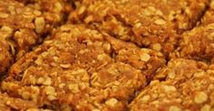 There's nothing better than a Crunchie and a cup of tea or coffee in the morning! The popular South African biscuit that we all know and love. Oat Biscuit Recipe, Oat Cookie Recipe, Oat Cookies, Baking Cookies, Cookie Recipes, Dessert Recipes, Dessert Bars, South African Desserts, South African Dishes