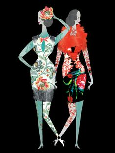 Lesley Barnes —  Fashion Illustrationsg (570×760)