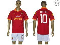 AS Roma Maillot Totti 10 Domicile 2012-2013 FT206