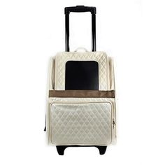 Roll your doggy in style all through the season. Quilted Luxe Rio - Ivory   Felix Chien