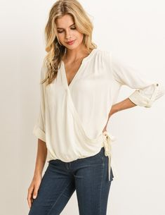 FISOUL Women Maternity Nursing T-Shirt Breastfeeding Top 3//4 Sleeved Striped Blouse