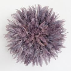 Juju Hat Feather Headdress Mauve 35 cm/13.5 inches